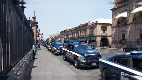 Realiza SSP caravana con 11 patrullas, para prevenir el Covid-19 - La  Balanza - Noticias de Justicia y Seguridad en Michoacán